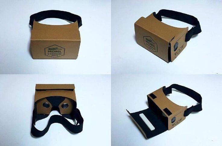 An awesome Virtual Reality pic! indir.com tarafından düzenlenen Mobil Etkinlik 2016 için üretmiş olduğumuz #cardboard #SanalGerçeklik gözlükleri katılımcıların hediye sepetine eklendi.  #AkilliGozluk #3Dsanalgozluk #vr #virtualreality #vrheadset #vrgame #360video #istanbul #telefonaksesuar #GiyilebilirTeknoloji #Teknoloji #SanalGerçeklikDünyasi #Akillitelefon #GoogleCardboard #WearableTech #SanalGözlük #LogoluCardboard #indircom #MobikEtkinlik #MobilApp #MobilUygulama by akilligozluk check…