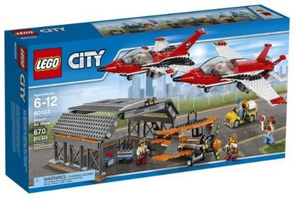LEGO+City+Airport+60103+Airport+Air+Show+Building+Kit+(670+Piece)+$58+{reg.+$90}