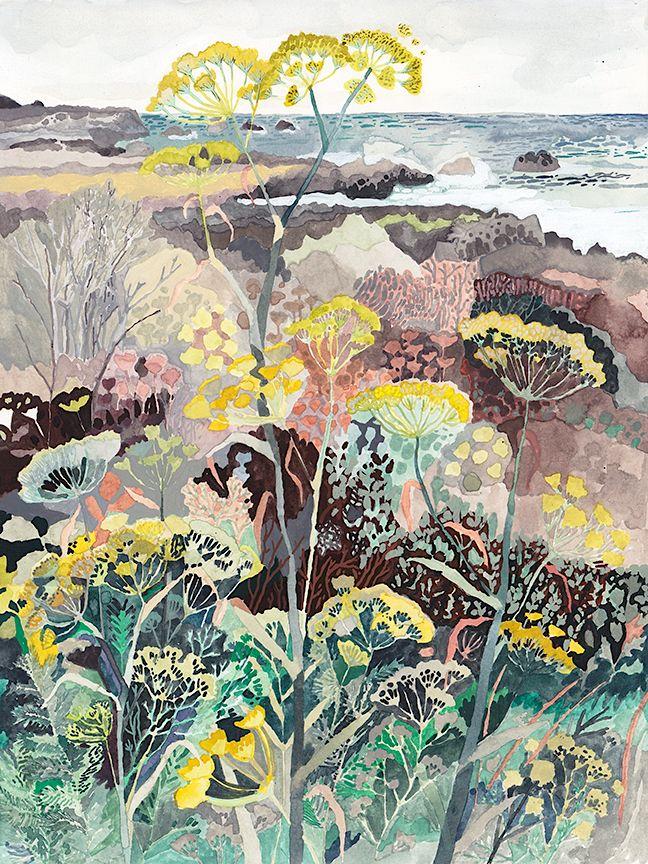 West coast Wild Fennel by Michelle Morin