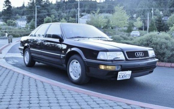 1990 Audi V8 Quattro 3rd car! Fast is the theme :)