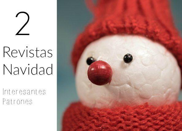 Patrones Crochet: 2 Revistas de Navidad de crochet