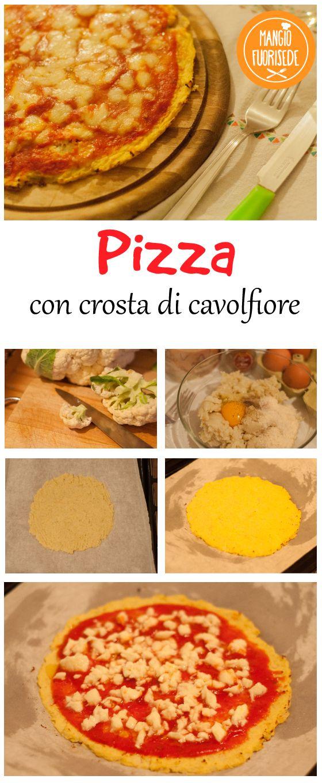 Pizza con crosta di cavolfiore, senza farina ne lieviti. Ricetta qui: http://mangiofuorisede.altervista.org/stasera-pizza-speciale-low-carb-senza-farina-ne-lievito/  #LowCarb #MangiareSano #Pizza #MangiareVerdure #PizzaSpeciale #RicetteDellaNonna #RicetteVegetariane #SenzaFarina #SenzaLievito #Vegetariano #SenzaGlutine