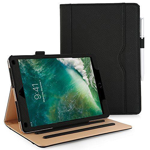 Coque iPad 9.7 2017 / iPad Air 1/iPad Air 2, Anjoo Smart Case Cover Housse Etui en cuir Trifold Stand avec Auto Sleep / Fonction de Réveil, Apple Pencil Holder, Pochette de Document pour Apple iPad 9.7 2017, iPad Air 1 (A1474 / A1475 / A1476), iPad Air 2, Noir #Coque #iPad #/iPad #Anjoo #Smart #Case #Cover #Housse #Etui #cuir #Trifold #Stand #avec #Auto #Sleep #Fonction #Réveil, #Apple #Pencil #Holder, #Pochette #Document #pour #Noir