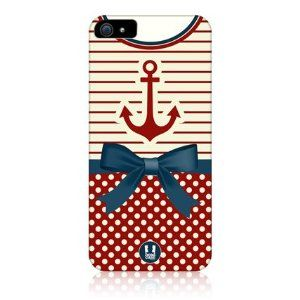 Amazon.com: Head Case Anchor Nautical Clothing Design Back Case Cover For Apple Iphone 5: Cell Phones & Accessories