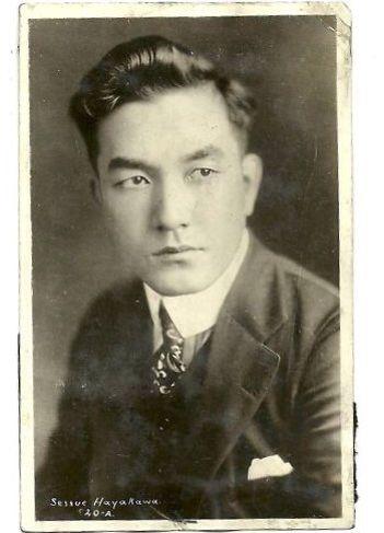 Sessue Hayakawa, killing it in the 1920's.