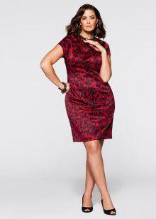 Kalem Elbise, bpc selection, kırmızı/siyah.