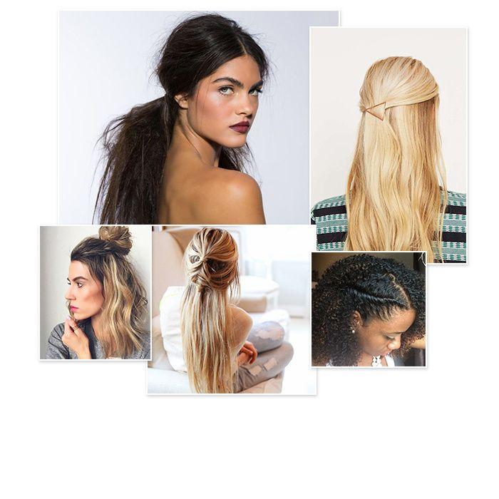 Pressée le matin ? Voici 20 coiffures au style implacable à réaliser en moins de 30 secondes chrono. Cerise sur le gâteau, vous n'avez pas besoin de compétences particulières pour les réussir. Chic alors !