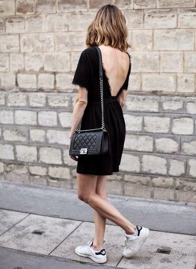 adidas stan smith noir et blanc porter