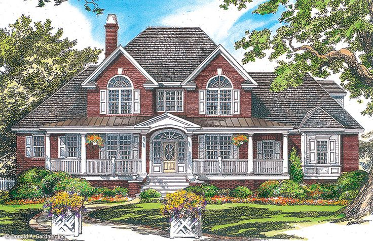 Home plan the hartswick by donald a gardner architects for The blarney house plan