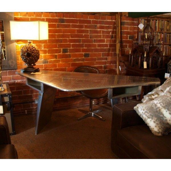 Aviator wingtip desk, stunning piece of unique furniture £1150.00