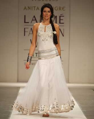 Anita Dongre wedding gown...gorgeous dress with an Indian influence.