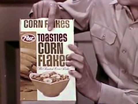 VINTAGE MID 60's POST TOASTIES AD - RON HOWARD LEARNING ABOUT THE DELICI...