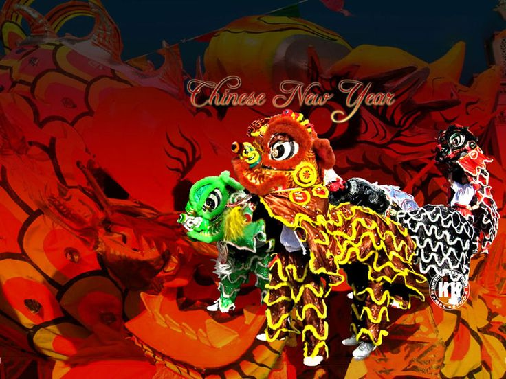 chinese new year dragon picture