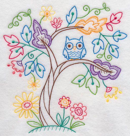 Owl Enchantment (Vintage)