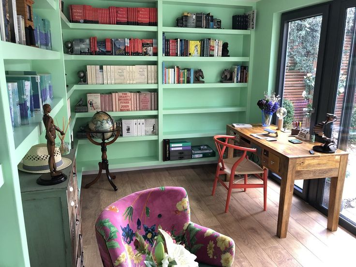 """John Boyne on Twitter: """"After such a positive response to my new attic shelves, here's the room I write my books in every day.… """""""