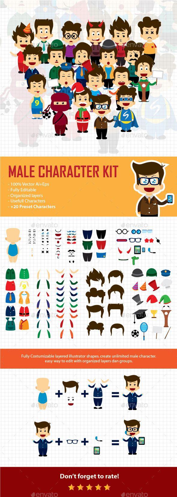 Male Character Kit V2