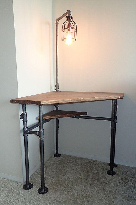 Best 25 small corner desk ideas on pinterest corner desk white corner desk and small bedroom - Small corner desk ideas ...