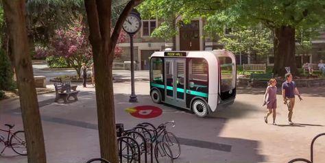 """Olli mini bus imprimé en 3D   <a href=""""http://www.lifestyl3d.com/impression-3d-industrie-automobile-affaire-roule/"""" rel=""""nofollow"""" target=""""_blank"""">www.lifestyl3d.co...</a>"""