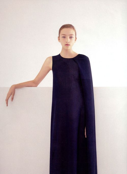 jil sander - forever one of my all time favourite designers. Clean, simple, yet ALWAYS innovative and fresh. I am a minimalist when it comes to clothing for sure.