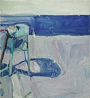 'Still Life with Cup', oil on canvas painting by Paul Wonner, 1959, private collection - Bay Area Figurative Movement - Wikipedia, the free encyclopedia