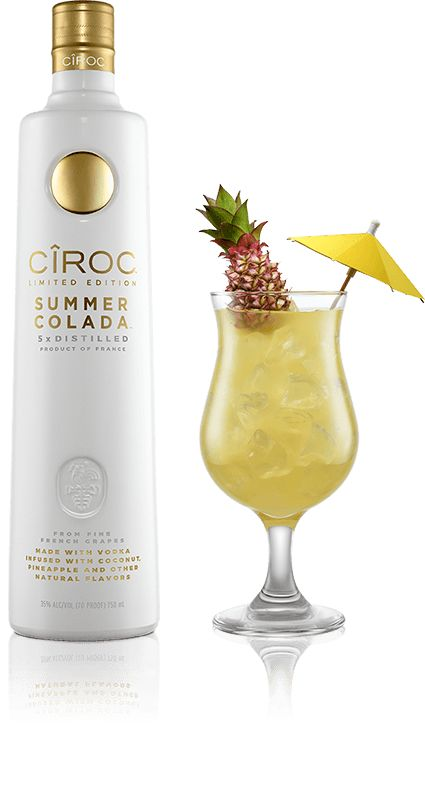 I know what cocktail I'll be mixing up this weekend, thanks to CÎROC!
