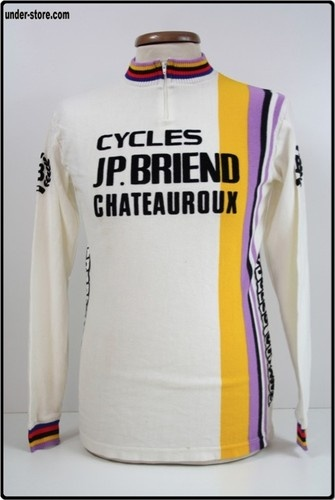 MAILLOT CYCLISME CHATEAUROUX JP. BRIEND CYCLE rfFOOT725