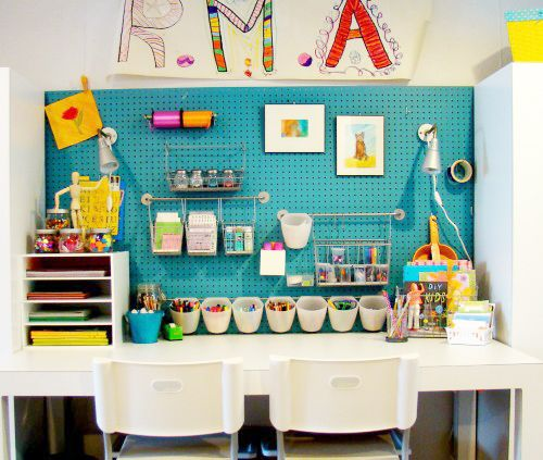 KokokoKIDS: Kids Craft Area And Art Supplies Organization