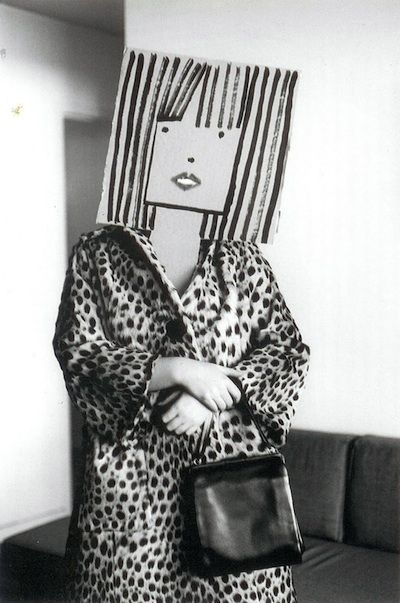 Saul Steinberg : Inge Morath. The mask series.