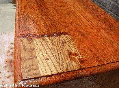 Un-stain and re-stain your furniture. | 31 Easy DIY Upgrades That Will Make Your Home Look More Expensive