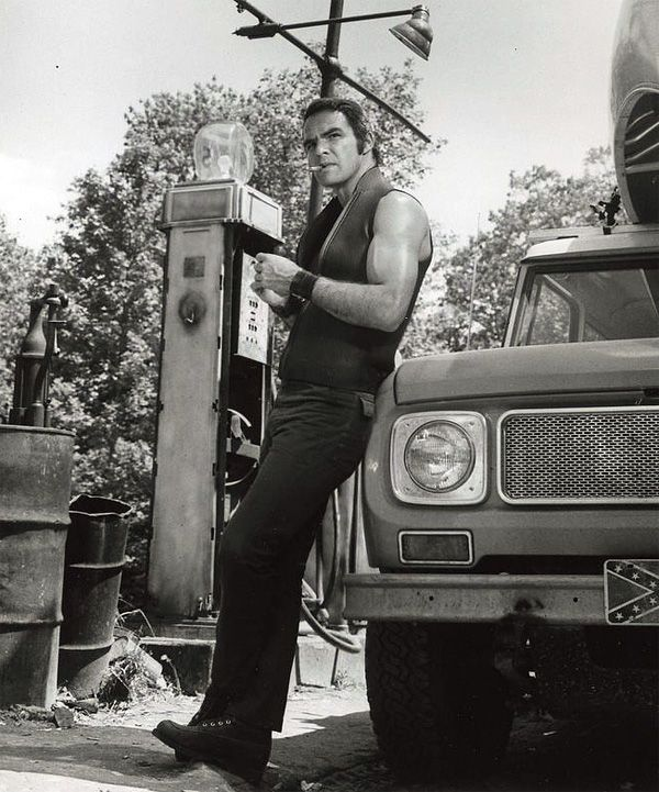 Burt Reynolds in Deliverance [1972] by the way, amazing movie.