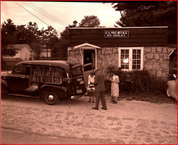 17 best images about north carolina bookmobiles on for Mountain house library