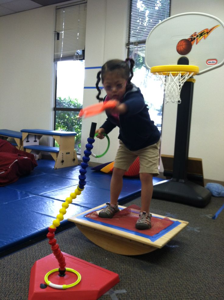 Using A Balance Board To Read Interesting Therapy