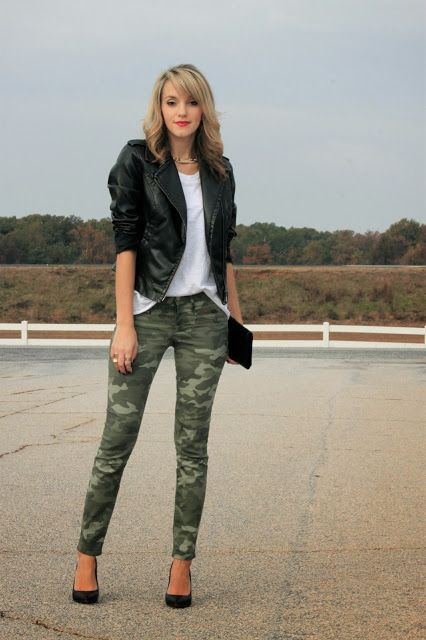 Onna's Closet: Perfect Way to Pull Off Camo