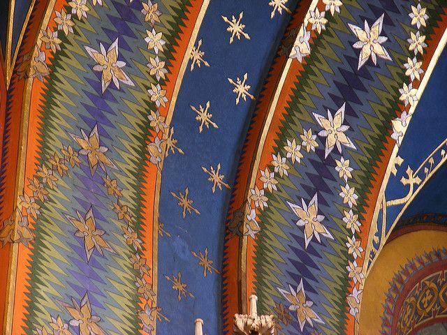 Stanisław Wyspiański, Franciscan Church.  http://www.szecesszio.com/2010/01/21/stanislaw-wyspianski-and-the-mystic-fitomorphism/