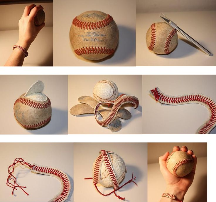 softball craft ideas diy baseball bracelet diy great craft ideas 2968