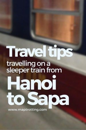 A Sleeper Train from Hanoi to Sapa, Vietnam