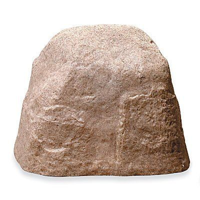 Sandstone Fake Landscape Rock (Small) - Improvements by Improvements. $49.99. Our fake rocks won't crack in the cold. Durable and sturdy, the fake rocks stay put in the wind. Available in two sizes, fake landscape rocks hide large and small ugly yard imperfections. Fake rocks hide yard eye-sores like sprinkler valves and electrical or cable junction boxes. Fake rocks hide yard eye-sores like sprinkler valves and electrical or cable junction boxes. Durable and stu...