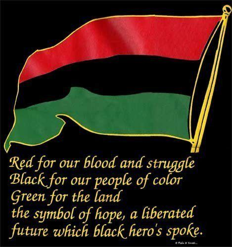 black liberation flag images   By my choice of pictures I gave the answer last night, but knowledge ...