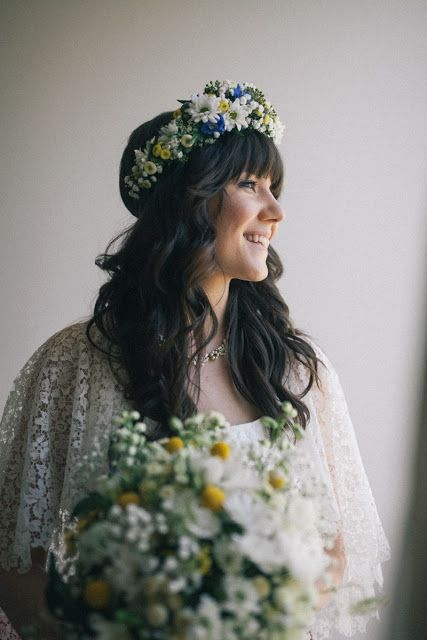 {Boho wedding} flower crown