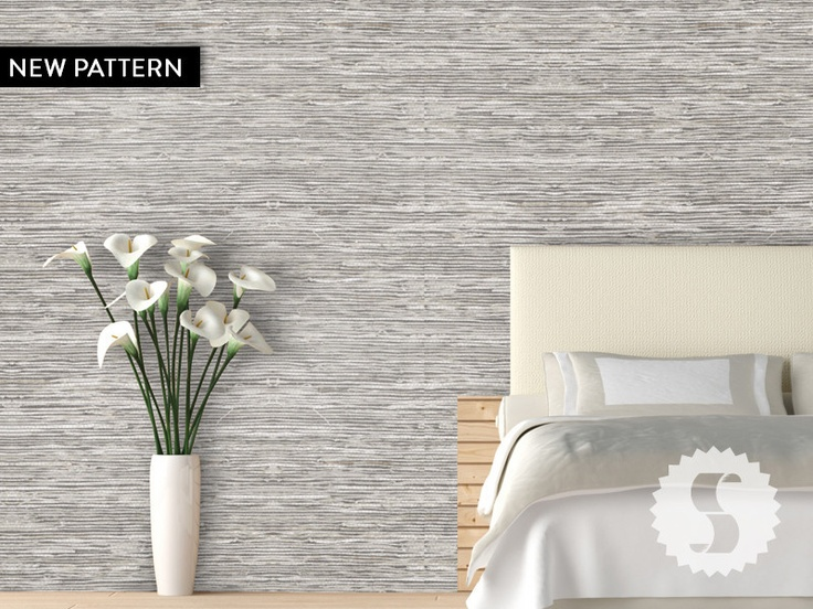 Grasscloth Removable & Temporary Wallpaper Taupe