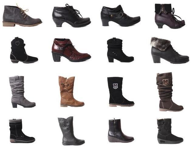 Обувь из rieker