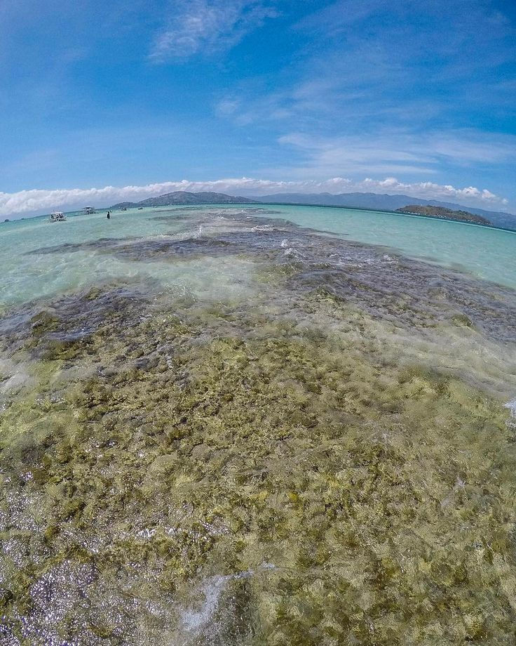 Hey Dumaguete! Wading on the clear waters of a high tide . #travel #islandlife #nature #sea #sandbar #gopro @goproph #waves