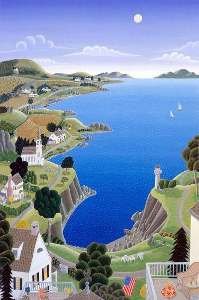 Thomas McKnight's New England Fantasy Limited Edition Fine Art