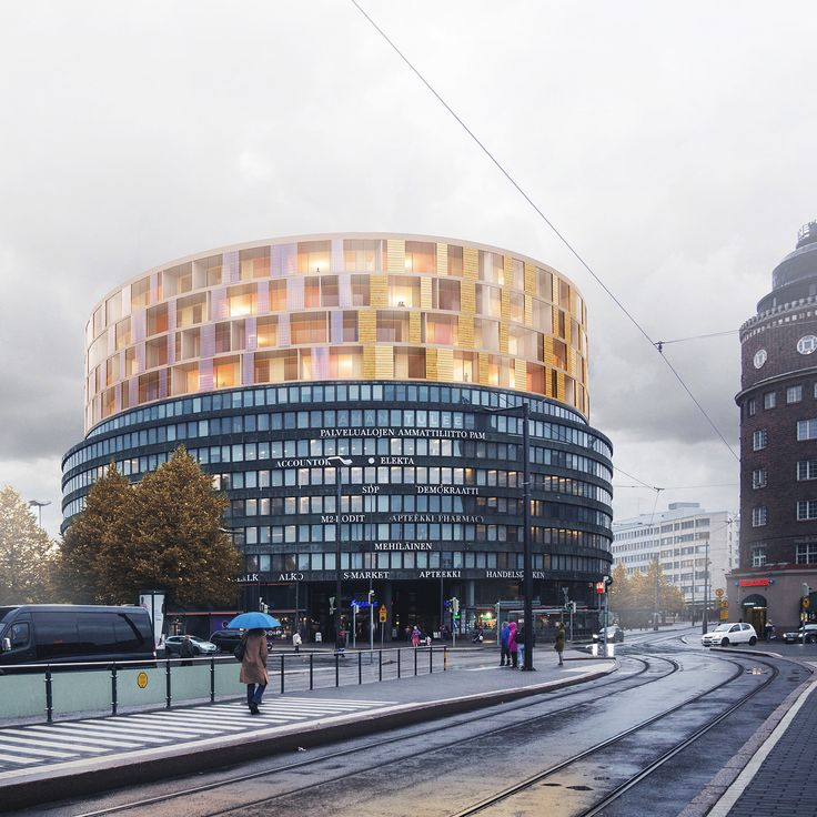 Plug-In (Helsinki, Finland). Second prize in large-scale interventions category. Design by Jari Lonka, Francesco Allaix & Lilja Mustila (L Architects, Finland).