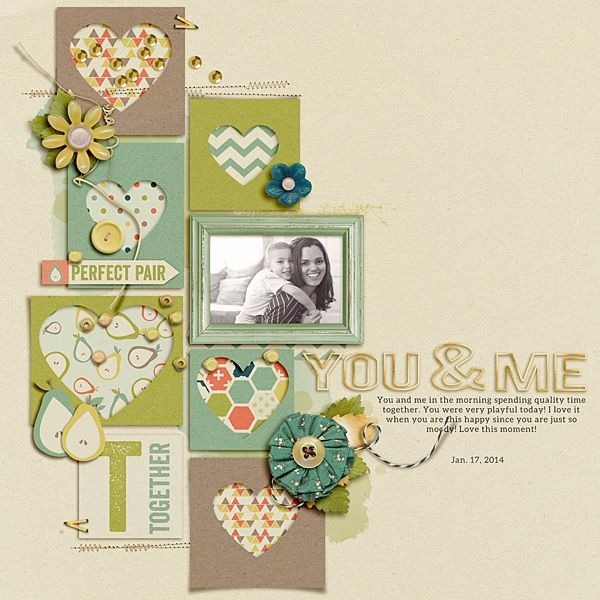A Project by mrivas2181 from our Scrapbooking Gallery originally submitted 01/24/14 at 08:03 AM