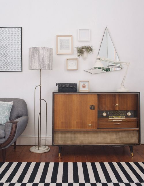 "Sneak Peek: Travis & Maike McNeill. ""The radiogram was my great-grandmas. She moved from Düsseldorf, Germany to Pretoria, South Africa in the early 80′s after my grandad passed away, to be around her great grandkids. My gran and my mum helped her move (my mum was pregnant with me at the time) and they had to carry most of the furniture down 8 flights of stairs because the apartment she stayed in didn't have an elevator."" #sneakpeek"
