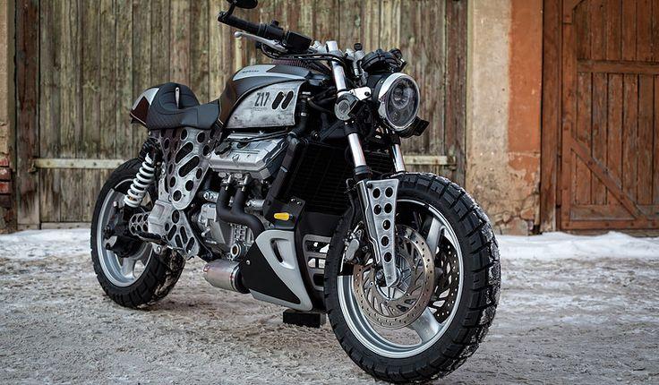 Рассказ о проекте кастомного мотоцикла на базе Honda ST1100 Pan European в мастерской Z17 Customs