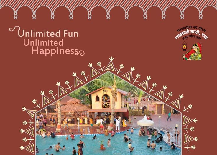 """Beat the heat at best Water Park in Indore- """"Nakhrali Dhani"""" where you can cool off and have fun with water slides, rain dance and wave pools. #WaterPark #Resort #Hotel"""