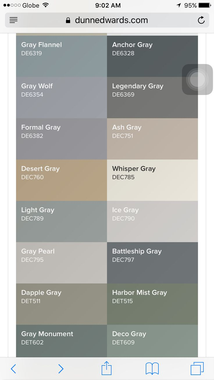Dunn Edwards Gray Shades For The Nursery