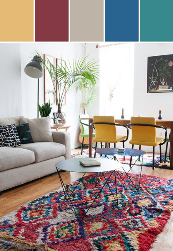 Colorful 80's Home Designed By Lisa Perrone | Stylyze Creative Director via Stylyze